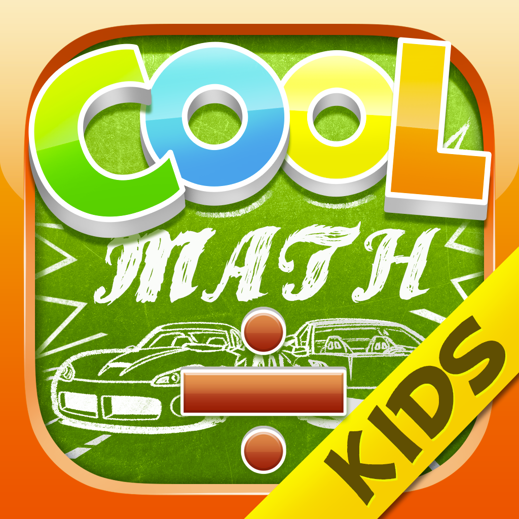 Cool Math Racing for Kids - Division | FREE iPhone & iPad app market